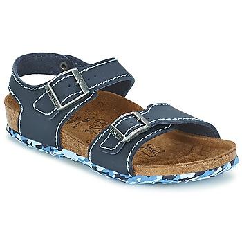 Pantofi Fete Sandale și Sandale cu talpă  joasă Birki's NEW YORK Neoprene / Blue