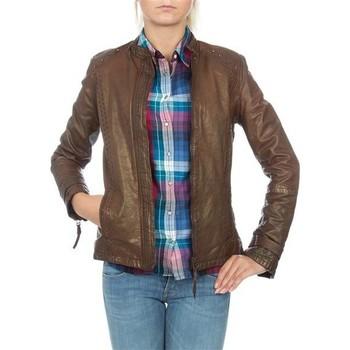 Îmbracaminte Femei Sacouri și Blazere Wrangler skórzana  WR4030ZC81 brown