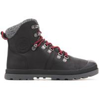 Pantofi Femei Drumetie și trekking Palladium Manufacture Pallabrouse Hikr 95140-041 black