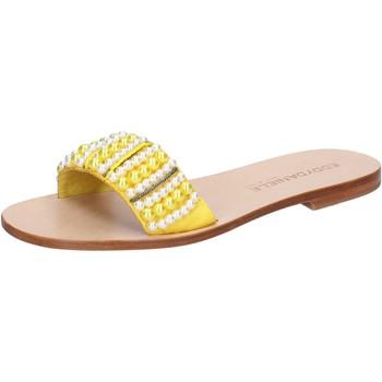 Pantofi Femei Sandale  Eddy Daniele Sandale AW452 Galben