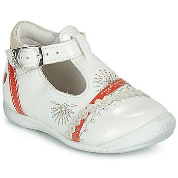 Pantofi Fete Balerin și Balerini cu curea GBB MARINA Vvn / Sidefiu-corai / Dpf / Kezia