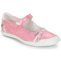 Pantofi Fete Balerin și Balerini cu curea GBB MARION Vte /  roz-alb / Dpf / Zara