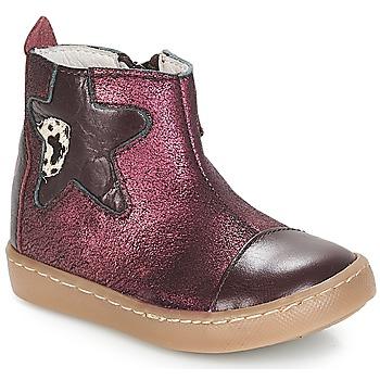 Pantofi Fete Ghete GBB LIAT Vte / Bordo / Dpf / 2706