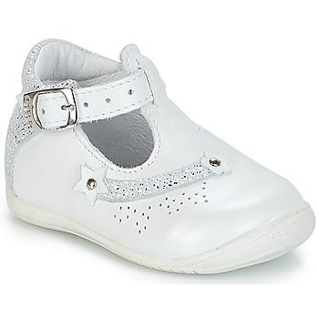 Pantofi Fete Sandale și Sandale cu talpă  joasă GBB PASCALE Vte / Alb / Dpf / Kezia