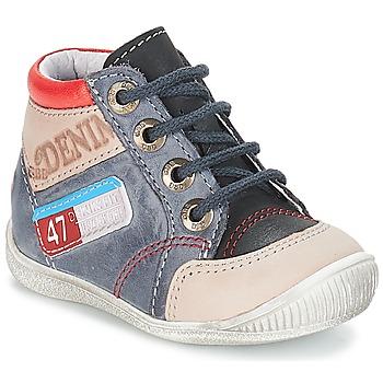 Pantofi Băieți Ghete GBB PANCRACE Vte /  gri-jeans / Dpf / Raiza