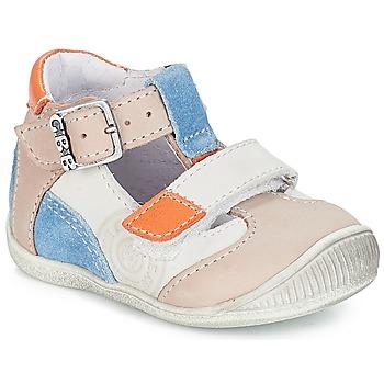 Pantofi Băieți Sandale și Sandale cu talpă  joasă GBB PIERRE Vtc /  gri-albastru / Dpf / Raiza