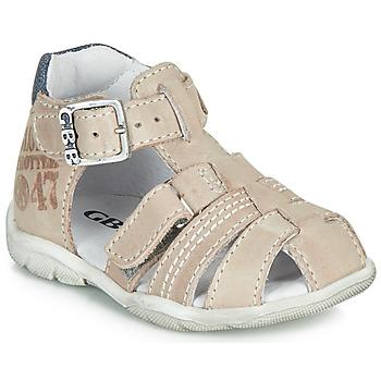 Pantofi Băieți Sandale și Sandale cu talpă  joasă GBB PRIGENT Gri