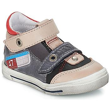 Pantofi Băieți Sandale și Sandale cu talpă  joasă GBB PEPINO Vte /  gri-jeans / Dpf / Snow