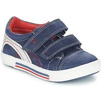 Pantofi Băieți Pantofi sport Casual Catimini PERRUCHE Nus / Bleumarin-roȘu / Dpf / Strike
