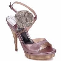 Pantofi Femei Sandale și Sandale cu talpă  joasă Fericelli MINKA Vernice / Cipria