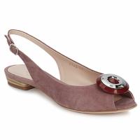 Pantofi Femei Sandale și Sandale cu talpă  joasă Fericelli PITOUCLI Camoscio / Malva