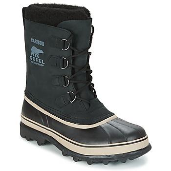 Pantofi Bărbați Cizme de zapadă Sorel CARIBOU Negru