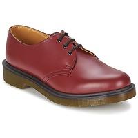 Pantofi Bărbați Pantofi Derby Dr Martens 1461 PW Roșu / Czereśnia