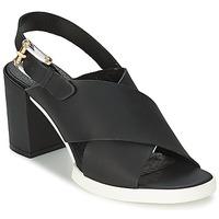 Pantofi Femei Sandale și Sandale cu talpă  joasă Miista DELILIAH Negru