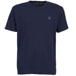 Îmbracaminte Bărbați Tricouri mânecă scurtă Gant THE ORIGINAL SOLID T-SHIRT Bleumarin