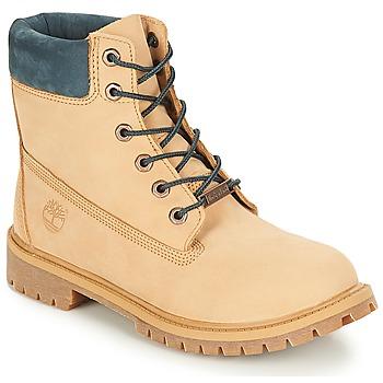 Încăltăminte Copii Ghete Timberland 6 In Premium WP Boot Iced / Coffee