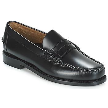 Pantofi Bărbați Mocasini Sebago CLASSIC PENNY BRUSHED Negru