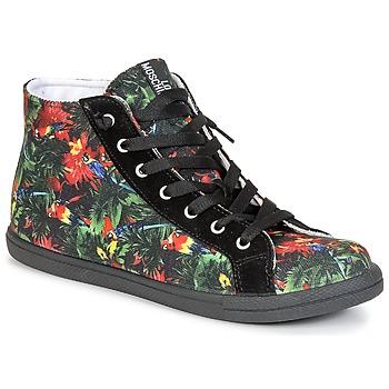 Încăltăminte Femei Pantofi sport stil gheata Love Moschino JA15132G0KJE0000 Negru /  multicolor