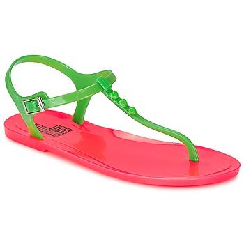 Pantofi Femei Sandale  Love Moschino JA16381G0KJN180A Verde / Roz