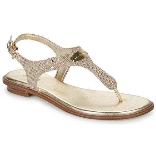 Pantofi Femei Sandale  MICHAEL Michael Kors MK PLATE Auriu
