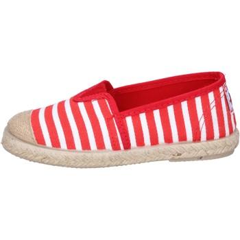 Pantofi Băieți Espadrile Cienta espadrillas rosso tessuto bianco profumate BX287 Rosso