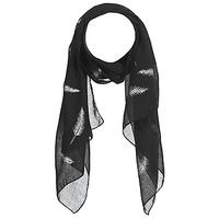 Accesorii textile Femei Esarfe / Ș aluri / Fulare André PLUME Negru