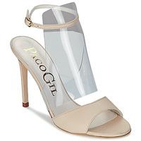 Pantofi Femei Sandale și Sandale cu talpă  joasă Paco Gil LUISE Ecru