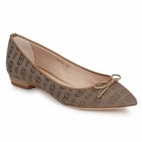 Pantofi Femei Balerin și Balerini cu curea Alberto Gozzi TINA TESSY Maro