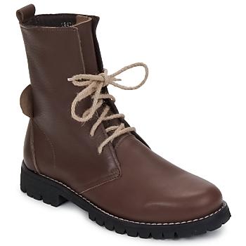 Pantofi Femei Ghete Swamp BIKE Maro