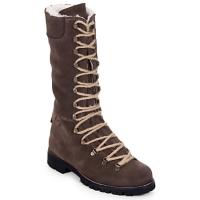 Pantofi Femei Ghete Swamp STIVALE LACCI MONTONE Maro / Culoare închisă