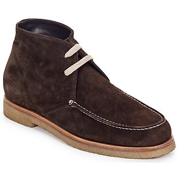 Pantofi Femei Ghete Swamp POLACCHINO SU Maro / Culoare închisă
