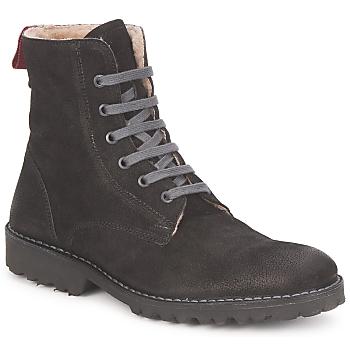 Pantofi Femei Ghete Swamp STIVALETTO LANA Negru