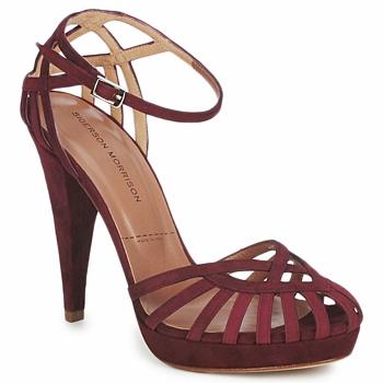 Pantofi Femei Sandale și Sandale cu talpă  joasă Sigerson Morrison CAMOSO Rum
