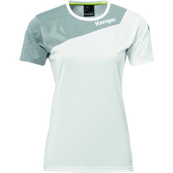 Îmbracaminte Femei Tricouri mânecă scurtă Kempa Maillot femme  Core 2.0 blanc/gris