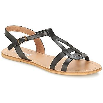 Pantofi Femei Sandale  So Size DURAN Negru