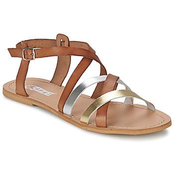Pantofi Femei Sandale și Sandale cu talpă  joasă So Size AVELA  alunĂ