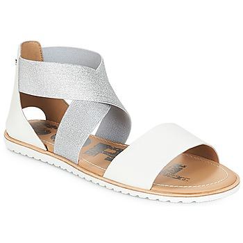 Pantofi Femei Sandale și Sandale cu talpă  joasă Sorel ELLA™ SANDAL White
