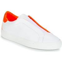 Pantofi Femei Pantofi sport Casual KLOM KISS Alb / Portocaliu
