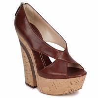 Pantofi Femei Sandale și Sandale cu talpă  joasă Casadei ELEANORE Castagna