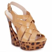 Pantofi Femei Sandale și Sandale cu talpă  joasă Casadei MAGGY Sweet / Nature