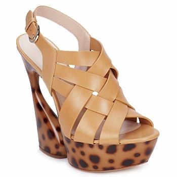 Pantofi Femei Sandale  Casadei MAGGY Sweet / Nature