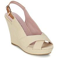 Pantofi Femei Sandale și Sandale cu talpă  joasă Moony Mood AKOLM Bej