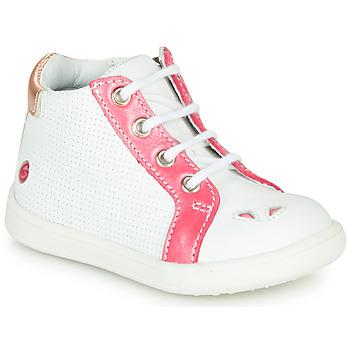Încăltăminte Fete Pantofi sport stil gheata GBB FAMIA Vte / Alb-coral / Dpf / Messi