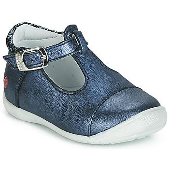 Pantofi Fete Balerin și Balerini cu curea GBB MERTONE Albastru