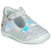 Pantofi Fete Balerin și Balerini cu curea GBB MERTONE Argintiu