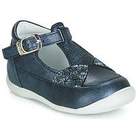 Pantofi Fete Balerin și Balerini cu curea GBB PAKITA Albastru