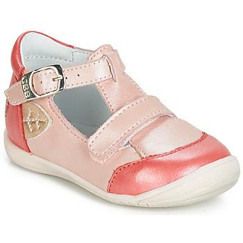 Pantofi Fete Balerin și Balerini cu curea GBB ZENNIA Roz