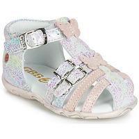 Încăltăminte Fete Sandale și Sandale cu talpă  joasă GBB RIVIERA roz