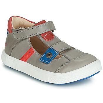 Pantofi Băieți Sandale  GBB VORETO Gri / Albastru / Roșu
