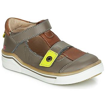 Pantofi Băieți Sandale și Sandale cu talpă  joasă GBB PORRO Gri / Maro